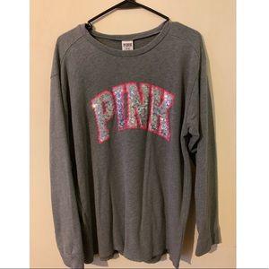 Victoria's Secret PINK long sleeve tee